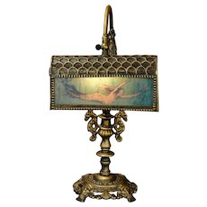 Fabulously Ornate Mermaid Desk Lamp