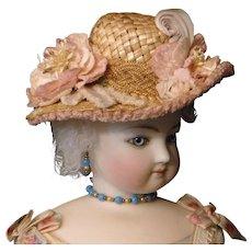 Straw Doll Hat