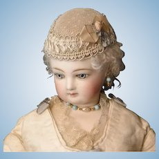 Point D'espirit French Fashion Doll Hat