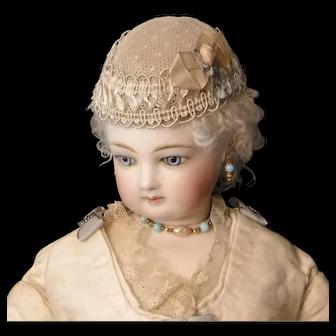 Point D'espirit French Fashion Doll Hat