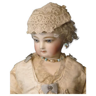 Lace Hat for French Fashion Doll Hat