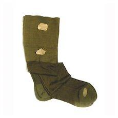 Very Old Stockings Hose EVERWEAR HOSIERY Socks Silky Seamed NEW