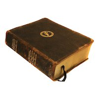 1933 Complete Leather Concordance Christian Science by MARY BAKER EDDY 1107 Pages Copyright