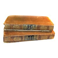 RARE 1826 1831 Life Of George Washington Volume 1 and 2 by Aaron Bancroft