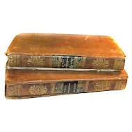 RARE 1826 1831 Life Of George Washington Volume 1 and 2 by Aaron Bancroft