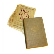 'This Is My Best' 1942 America's Greatest Living Authors MASTERPIECES