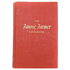 1896 Fannie Farmer Cookbook 11th Edition Printed 1965