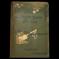 *RARE* 1889 Book The Pretty Sister of JOSE By Hodgson Burnett