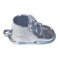 WELLS Silver Charm Baby Shoe