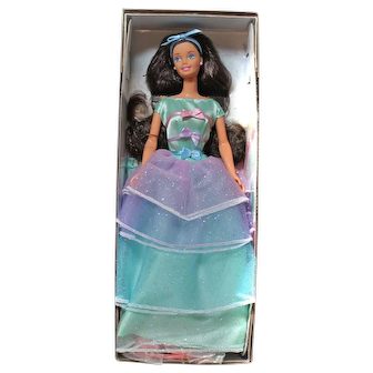 Spring Tea Party BARBIE Doll Caucasian #161771 Avon Exclusive Special Edition