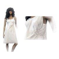 Vintage Barbizon Full Slip Ladies ARIEL White TAFREDDA Size 36 NEW OLD STOCK