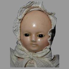 """9"""" Papier Mache' Taufling Baby"""