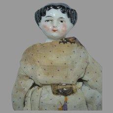 "5"" Flat Top China Dollhouse Doll"