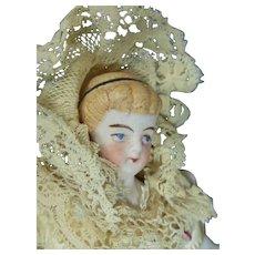 "4 ¼"" Parian with Alice Hair Do"