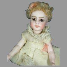 "4"" All Bisque Simon Halbig Type Doll"