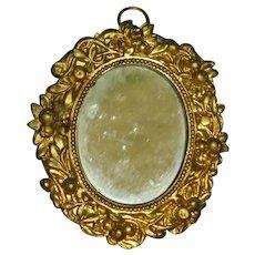 Ornate Ormolu Dollhouse Mirror