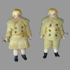 All Bisque Twins Dolls