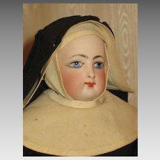 French Fashion Nun