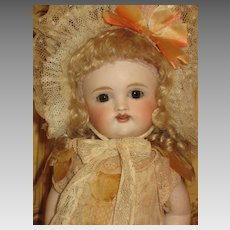 Rare Large 9 ½''  All Bisque Doll