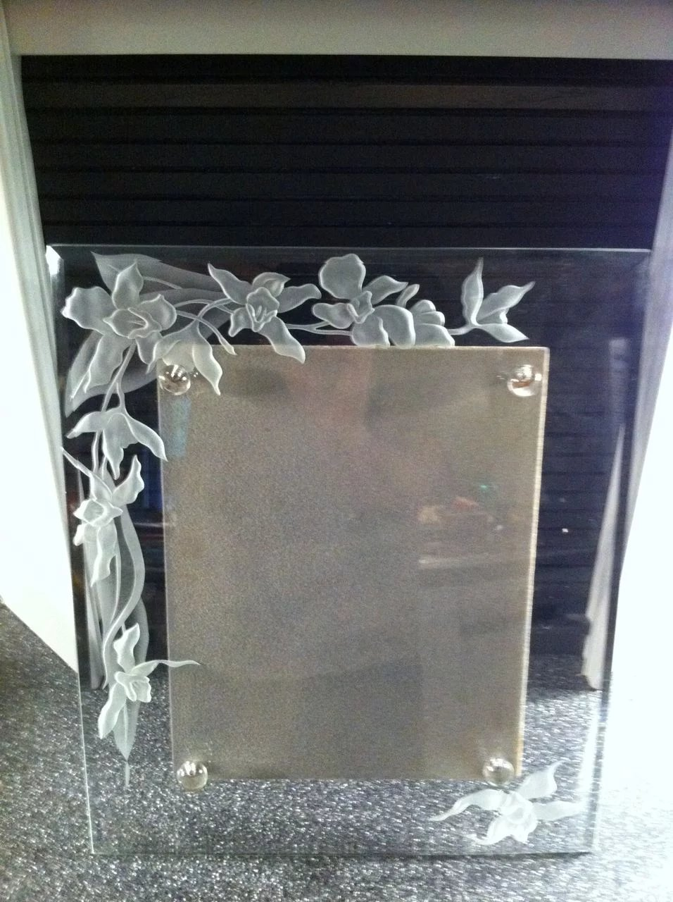 Dorothy thorpe etched glass picture frame the era of my ways dorothy thorpe etched glass picture frame click to expand jeuxipadfo Image collections