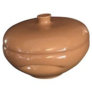 Cantaloupe Iroquois Redesigned Covered Casserole by Russel Wright