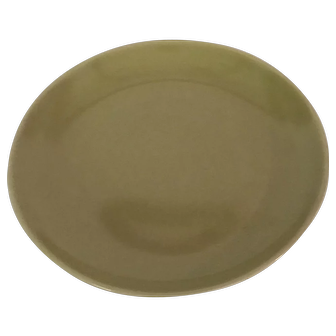 Avocado Iroquois Luncheon Plate by Russel Wright