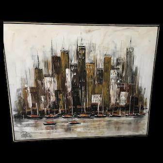Lee Reynold's Original Painting 60 x 49