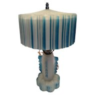 1920 - 1930's Glass Lamp