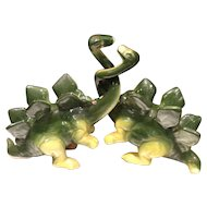 Vintage Dinosaur Salt and Pepper Shaker