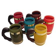 Set of 6 Siesta Ware Mugs