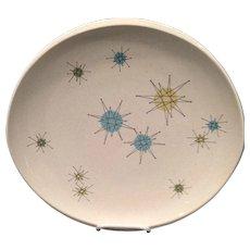 Franciscan Starburst Dinner Plate 1950's