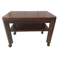 Brazilian Rosewood End Table