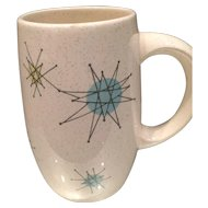 Franciscan Starburst Large Mug 1950's