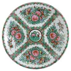 Vintage Chinese Rose Canton Platter