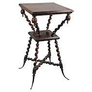 Antique Walnut Parlor Table