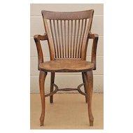 Vintage Art Nouveau Bench and Chair