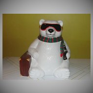 Hollywood or Bust Coke Bear cookie Jar
