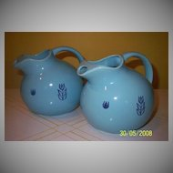"Cronin China ""Tulip"" Ball Jug"