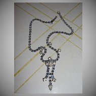 Stars and Night Sky Rhinestone Necklace - Free shipping