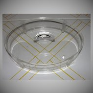 Lucite What Not Trinket Box - b21
