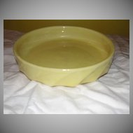 McCoy Yellow Shallow Console Bowl - b21