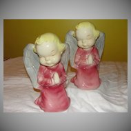 Royal Copley Keeling Angel Wall Pocket/Planter