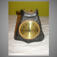 Giddy-up Leather Stirrup Quartz Clock - b22