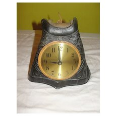 Giddy-up Leather Stirrup Quartz Clock - b22