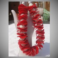 Capri-cious Red and White Necklace - Free Shipping