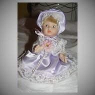 Itty Bitty Baby in Lavender Dress Doll - b23