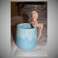 Pixie on Handle Child's drinking Mug - b24