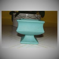 Aqua McCoy Footed Planter - b24