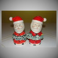 Merry Christmas Santa Shakers