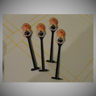 Booze and Bowling Art Anson Swizzle Sticks - b24